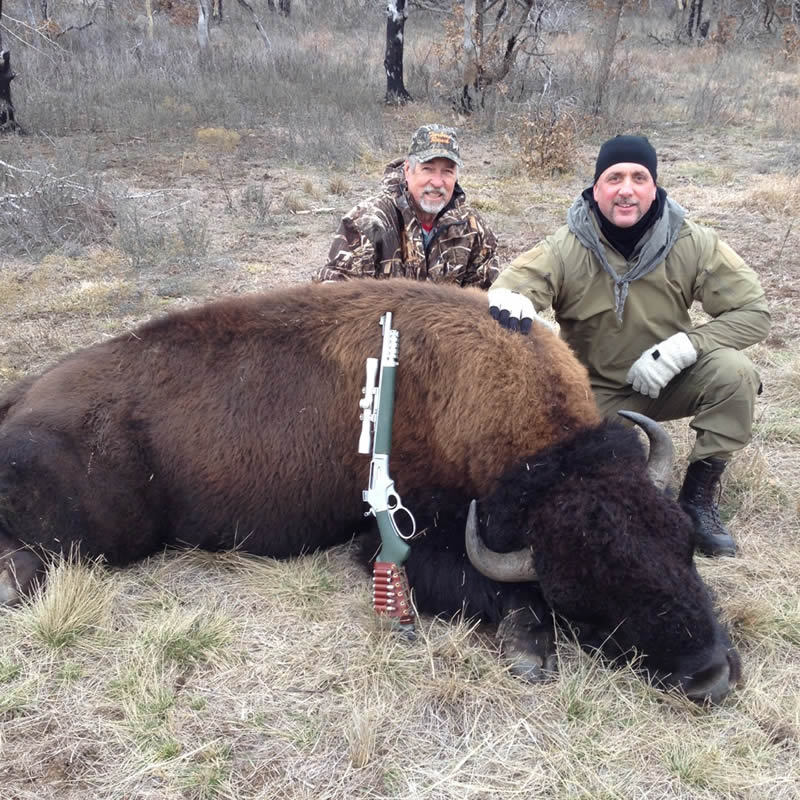 Tarbone Bison Oklahoma Ranch hunts 2015